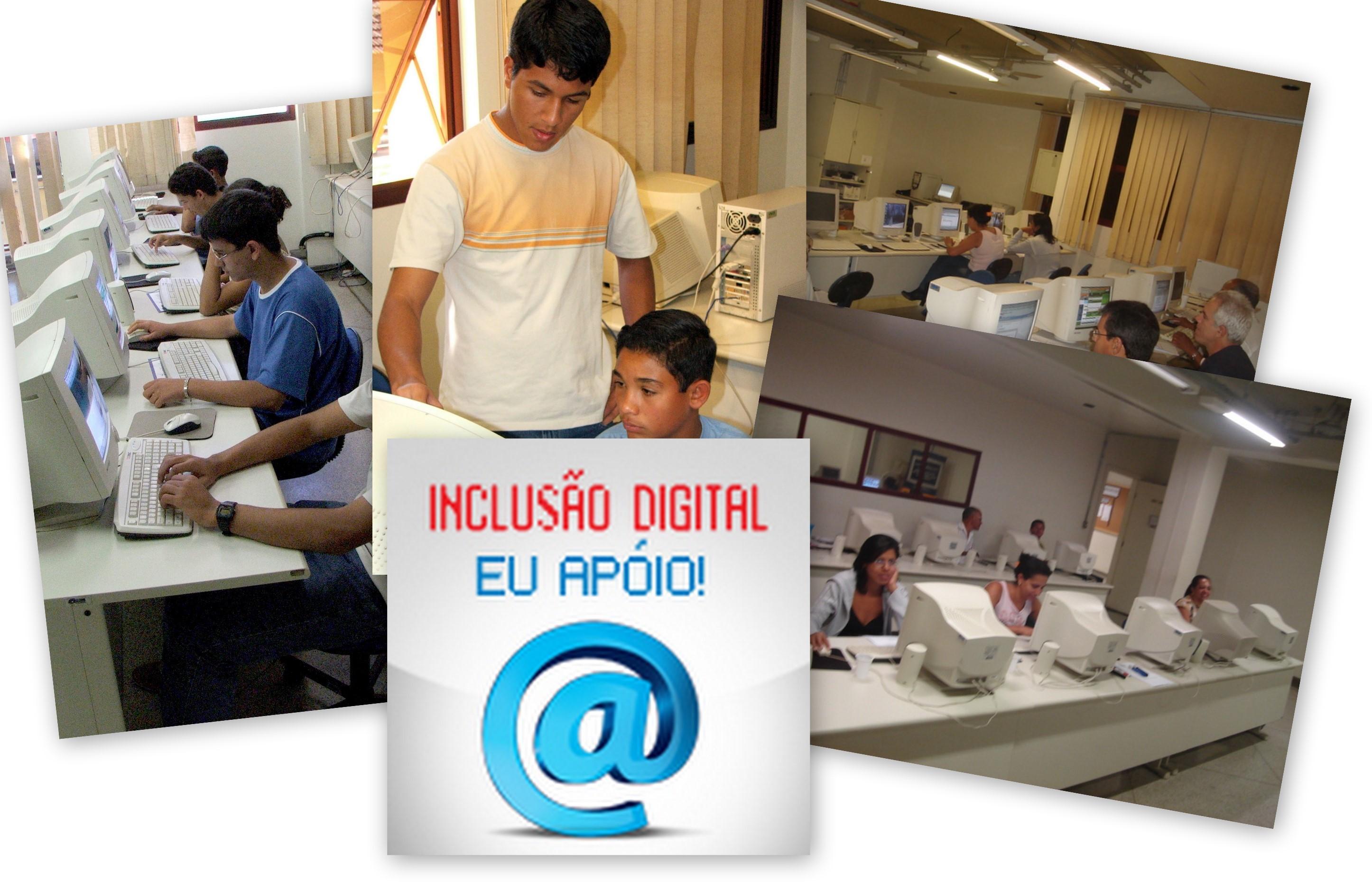 Inclusão Digital Eu Apóio!