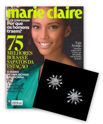Marie Claire Outubro Brinco H.Stern Thais Araujo
