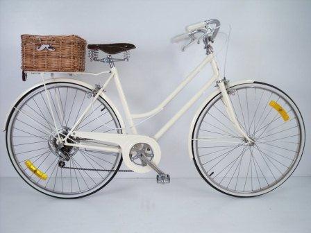 Objeto do desejo cesta de vime traseira - Cestas para bicicletas ...