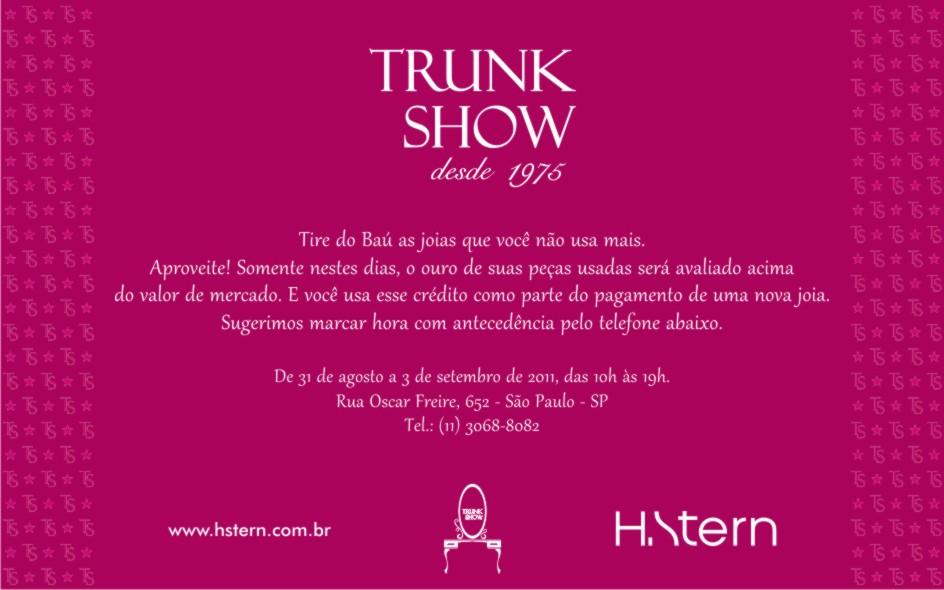 Trunk Show H.Stern 2011