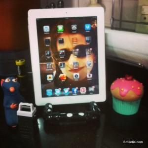 iPad na cozinha