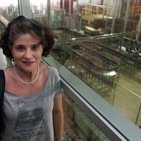 visita à fábrica verde da Coca-Cola em Maceió