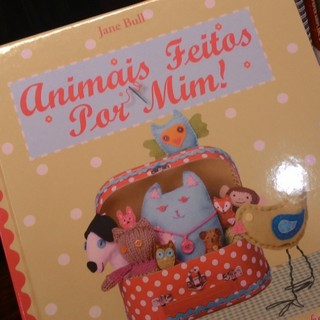 livro animais feitos por mim