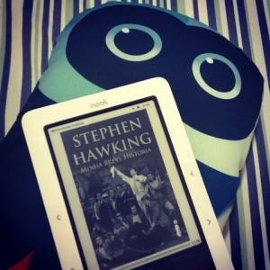 livro minha breve historia de stephen hawking