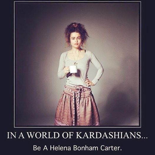 Seja Helena Bonham Carter
