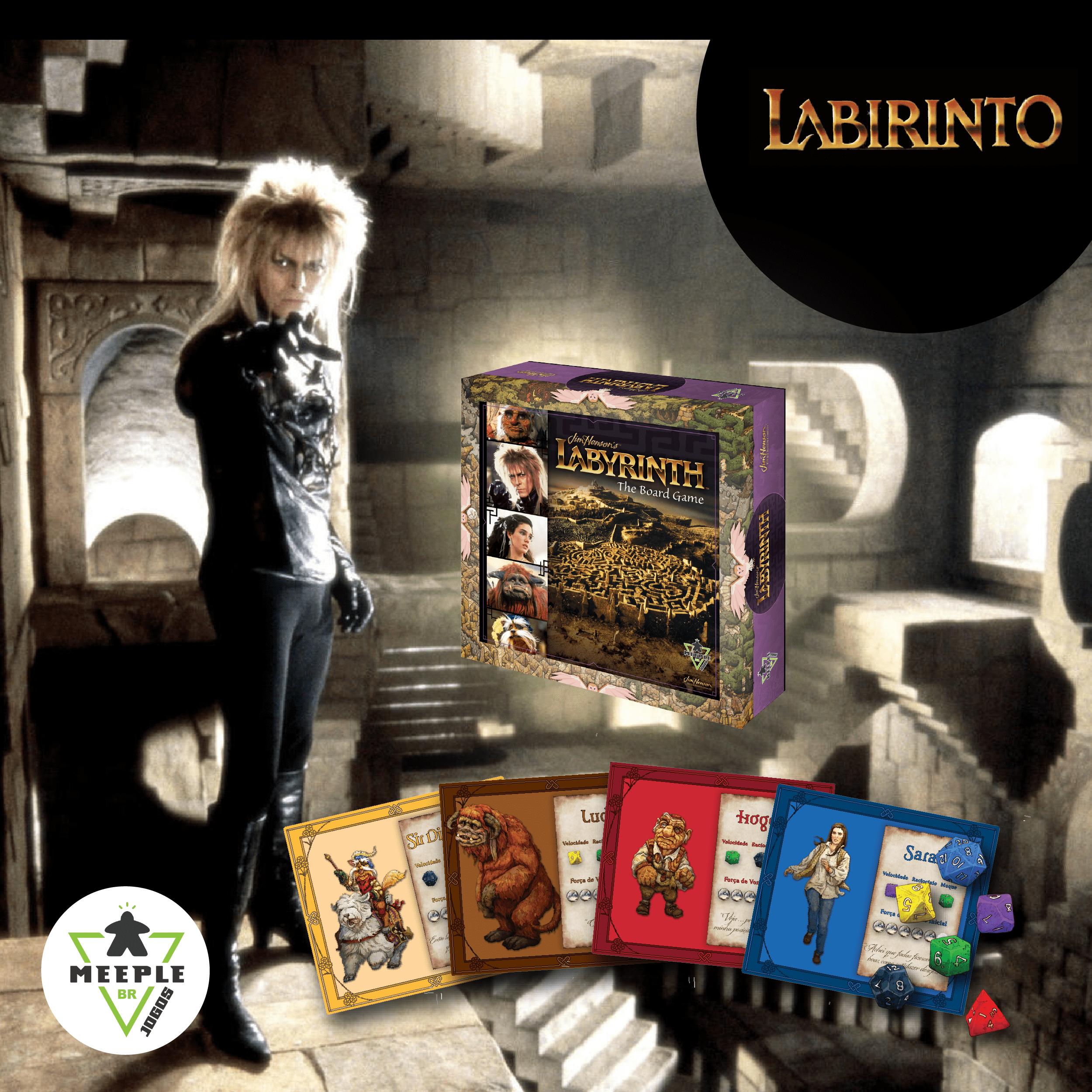 Jogo de tabuleiro+DVD Labirinto - A Mágia do Tempo