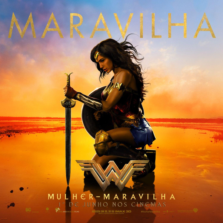 Trailer e Novo Poster de Mulher Maravilha (faltam menos de 90 dias)