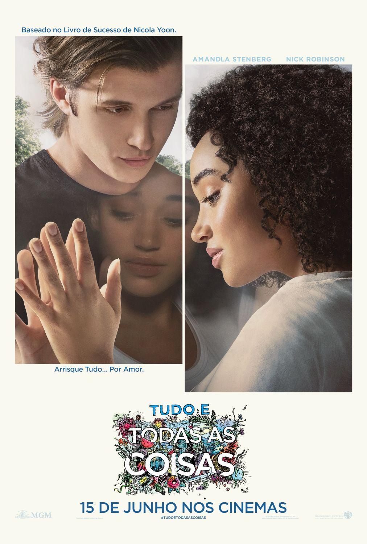 Warner Bros. Pictures divulga as primeiras artes de Tudo e Todas as Coisas, drama romântico baseado no best-seller escrito por Nicola Yoon