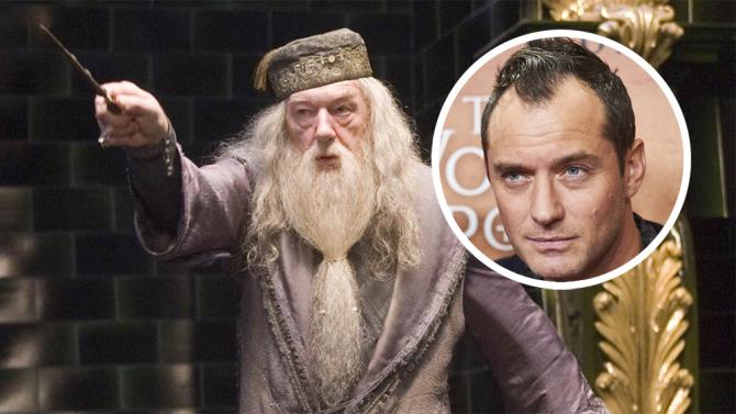 Warner Bros. confirma Jude Law no papel de Dumbledore no segundo filme de Animais Fantásticos