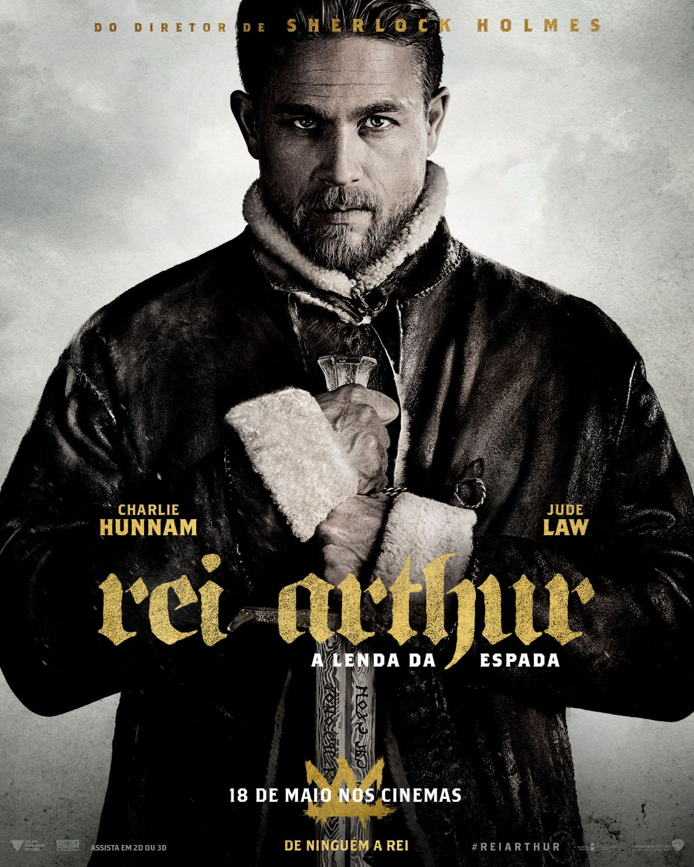 Rei Arthur: A Lenda da Espada - novo poster e novo trailer