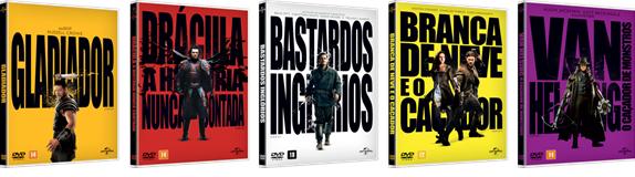 Universal Pictures lança nova coleção Heróis&Vilões em edição limitada