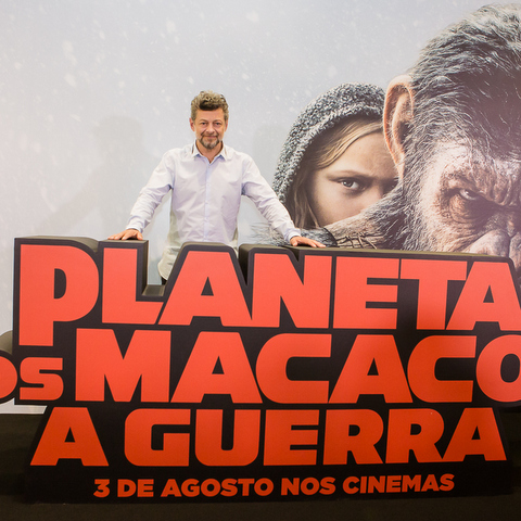 Planeta dos Macacos - A Guerra traz Andy Serkis ao Brasil