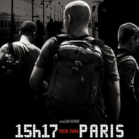Cinema: 15h17: Trem Para Paris