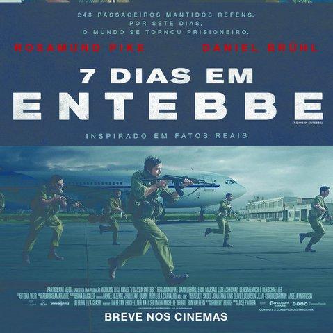 Cinema: 7 Dias em Entebbe