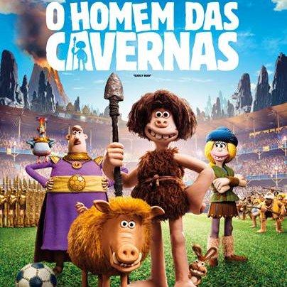 Cinema: O Homem das Cavernas