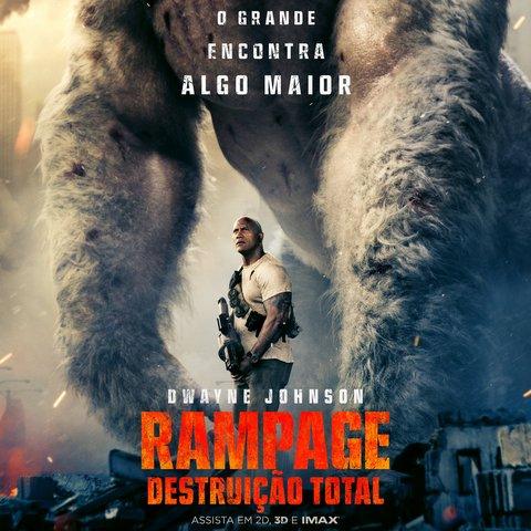 Cinema: Rampage - Destruição Total