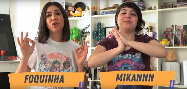 Canal Amo Séries, apresentado por Foquinha e Mikannn, completa sua terceira temporada