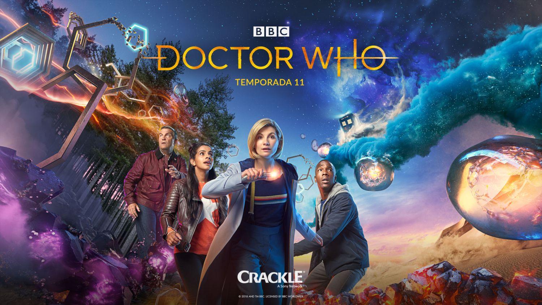 Nova Temporada de Doctor Who chega ao Crackle também em dia 07 de outubro
