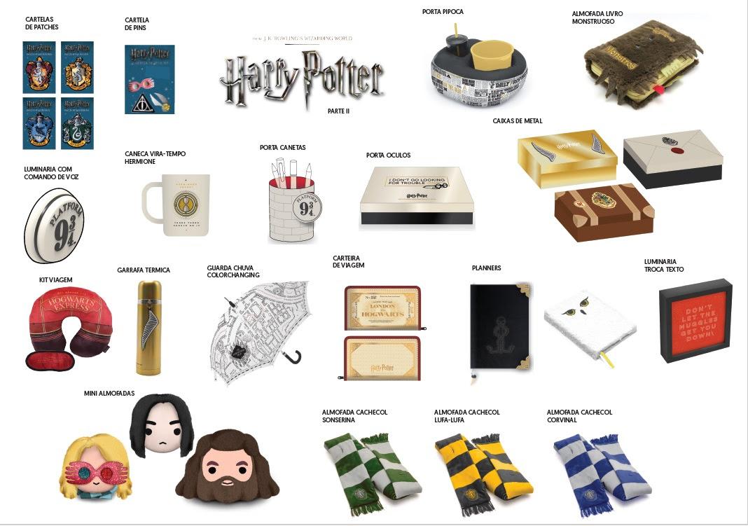 Imaginarium lança novos itens de sua coleção Harry Potter