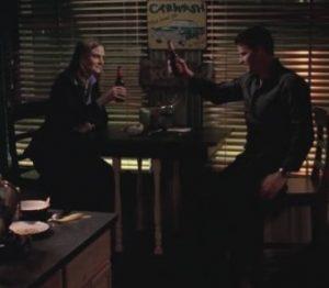 Bones S04E23 The Girl In The Mask Bones e Booth