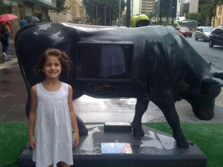 Vaca Telúrica e Vaca Torpedo #cowparade
