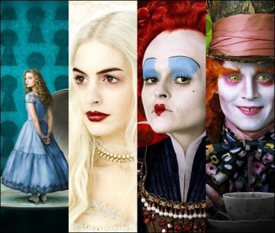 Cinema: Alice No País das Maravilhas por Tim Burton