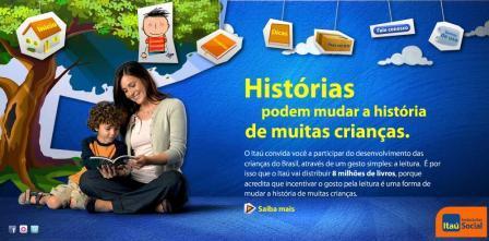 Histórias podem mudar a história de muitas crianças - Fundação Itaú Social