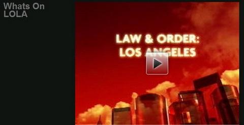 Está chegando: Law&Order LA