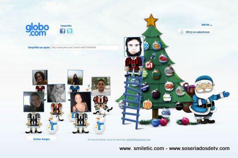 O Natal na Globo.com
