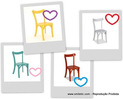 Apaixonada por uma cadeira de madeira...