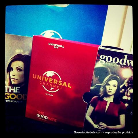 E quem faturou o box de The Good Wife foi...