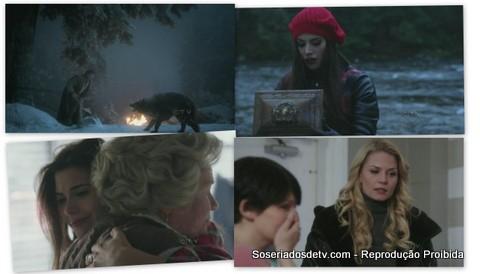 Once Upon A Time Red-Handed 1x15 ruby chapéuzinho é o lobo e um coração em uma caixa