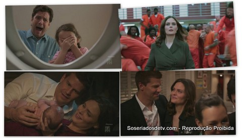 bones prisoner in the pipe 07x07 bones have a baby