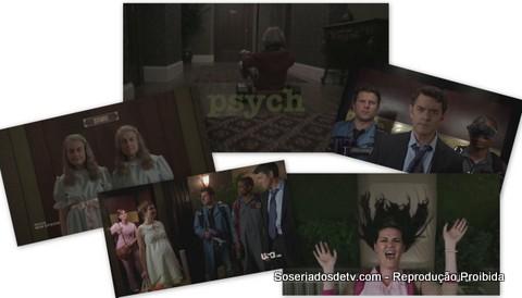 Psych heeeeere's lassie 6x11 shining rosemary's baby psycho