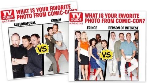 Competição TV Guide de Fotos Comic Con