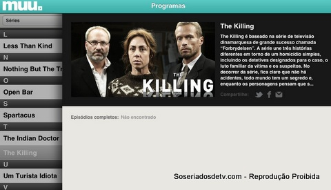 muu seriados séries de tv the killing