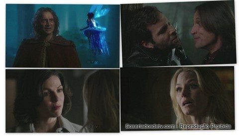 once upon a time the return 1x19 Rumpelstiltskin August Fada Azul