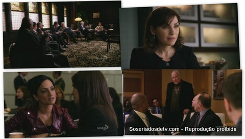 The Good Wife Blue Ribbon Panel 3x19 mathew perry