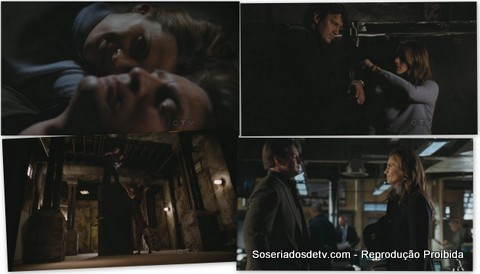 Castle Cuffed 04x10 beckett castle tiger acorrentados tigre