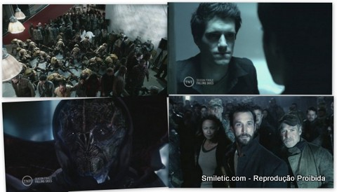 Falling Skies: A More Perfect Union 2x10 s02e10 novo alien hall annie gravida