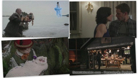 Once Upon A Time The Stranger 1x20 pinóquio emma