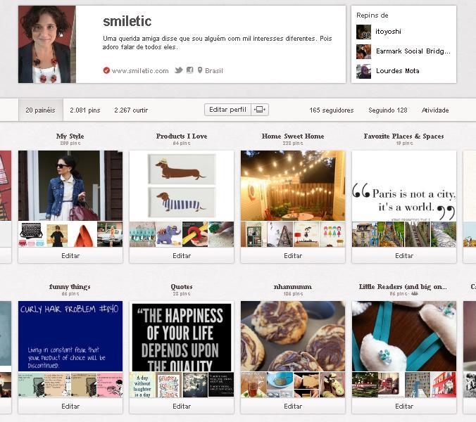 Tirando ideias do Pinterest