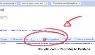Compartilhando no Google Reader