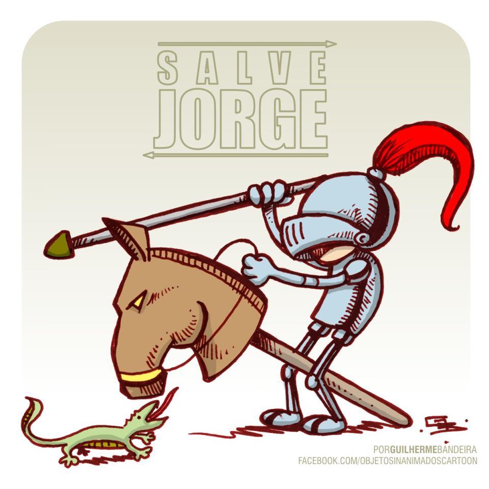 Salve Jorge - o santo, não a novela
