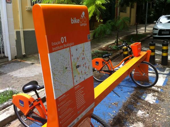 Bilhete Único será integrado com o sistema Bike Sampa