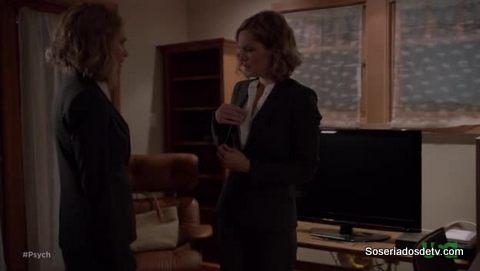 Psych: Juliet Wears The Pantsuit (7x09)