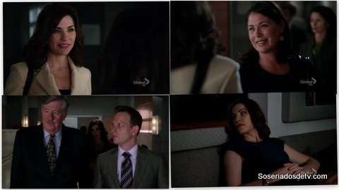 The Good Wife: And The Law Won 4x02 s04e02