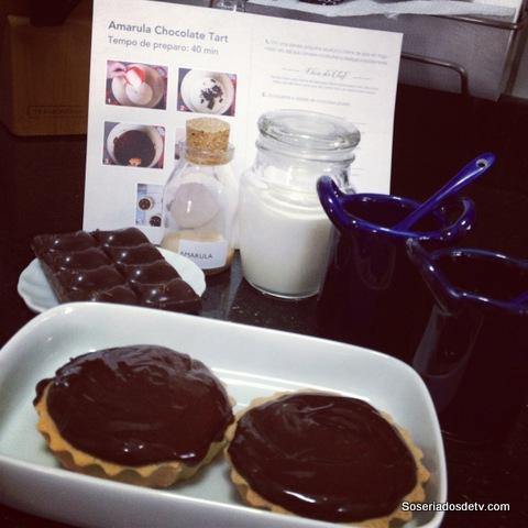 Comidinhas: Amarula Chocolate Tart
