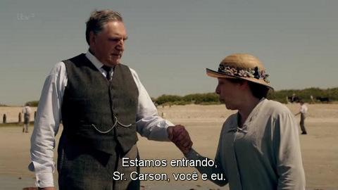 Downton Abbey Carson e Hughes Especial de Natal 13