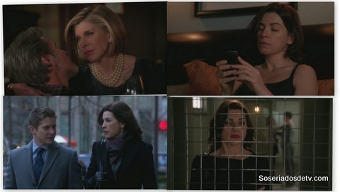 The Good Wife: The Wheels of Justice e Rape: A Modern Perspective (4x19 e 4x20)